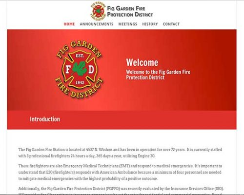 Fig Garden Fire Protection District Logo